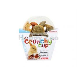 ZOLUX Crunchy Cup mrkev a vojtěška 200g