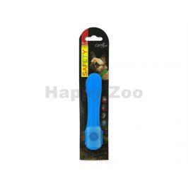 Svítící návlek na obojek DOG FATNASY LED modrý 15cm