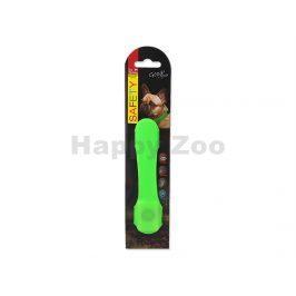 Svítící návlek na obojek DOG FATNASY LED zelený 15cm