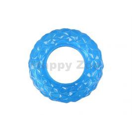 Hračka FLAMINGO guma TPR - Crystal kruh na pamlsky (S) 13cm