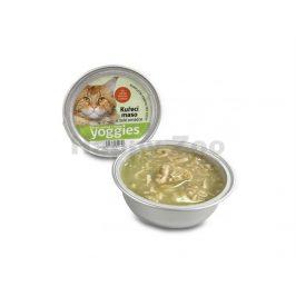 YOGGIES Cat miska s kuřecími kousky v želé 85g