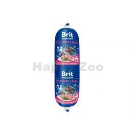 BRIT Cat Premium by Nature Sausage Chicken & Rabbit 180g