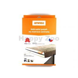 Potah na matraci AMINELA 80x60x10cm šedý/oranžový