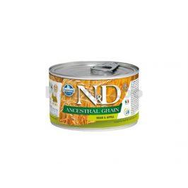 Konzerva N&D Dog Ancestral Grain Adult Boar & Apple Mini 140g