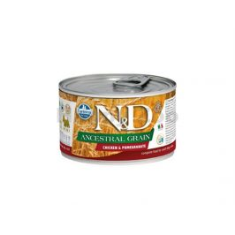 Konzerva N&D Dog Ancestral Grain Adult Chicken &Pomegranate Mini