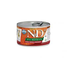 Konzerva N&D Dog Pumpkin Puppy Chicken & Pomegranate Mini 140g