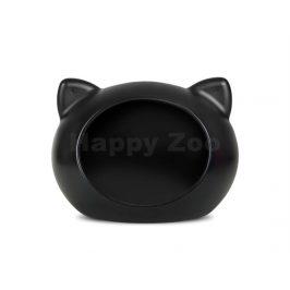 GUISAPET plastový pelíšek pro kočky černý 51x35,3x44,5cm