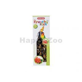 Tyčinky ZOLUX Crunchy Sticks Large Parakeet rybíz/jeřabiny (2ks)