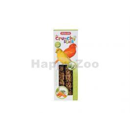 Tyčinky ZOLUX Crunchy Sticks Canary zrní/mrkev (2ks)