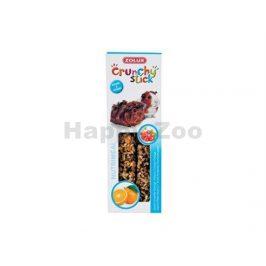 Tyčinky ZOLUX Crunchy Sticks rybíz/pomeranč pro morče (2ks)