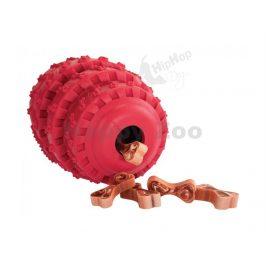 Hračka HIPHOP guma - Rolling Tires na pamlsky vanilková 8,5cm (M