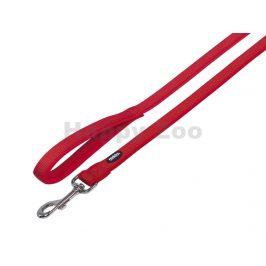 Vodítko NOBBY Classic Preno neoprénové červené (M/L) 120cm