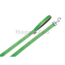 Vodítko NOBBY Soft Grip nylonové zelené 1x120cm