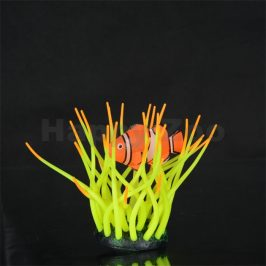 Akvarijní rostlina AQUA LUMO sasanka s klaunem 5,5x5,5x11cm