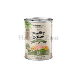 Konzerva CHICOPEE Adult čisté drůběží s rýží 400g