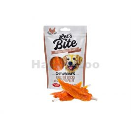 BRIT Let´s Bite Chewbones Calcium Sticks with Chicken Fillet 300