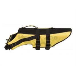 Plavací vesta TRIXIE Life Vest žlutočerná (XS) 28cm (hrudník 30-