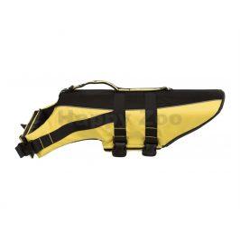 Plavací vesta TRIXIE Life Vest žlutočerná (XL) 65cm (hrudník 60-