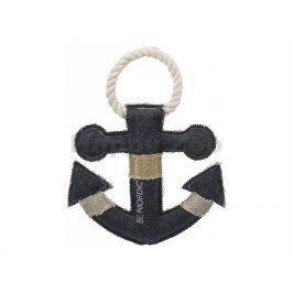 Hračka TRIXIE látka - Be Nordic kotva s provazem 25cm