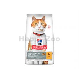 HILLS Feline Young Adult Sterilised Chicken 1,5kg