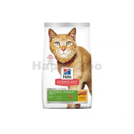 HILLS Feline Adult 7+ Youthful Vitality Chicken 7kg