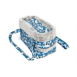 Taška SAMOHÝL Lebka LUX modrá 30cm
