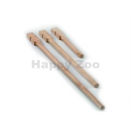 Dřevěné bidlo NOBBY 1x40cm