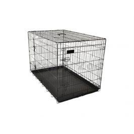 Klec pro psy FLAMINGO Mezo černá (XL) 70x109x77cm