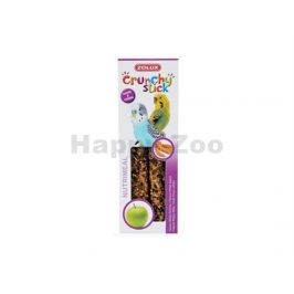 Tyčinky ZOLUX Crunchy Sticks Parakeet proso/jablko (2ks)