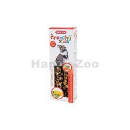 Tyčinky ZOLUX Crunchy Sticks mrkev/pampeliška pro králíky (2ks)