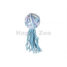 Hračka pro kočky FLAMINGO - Yarn míček s ocasem 13cm