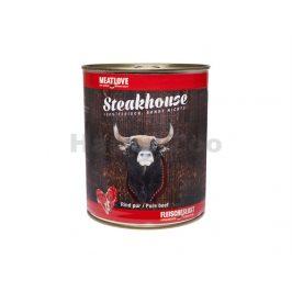 Konzerva MEATLOVE Steakhouse Pure Beef 800g