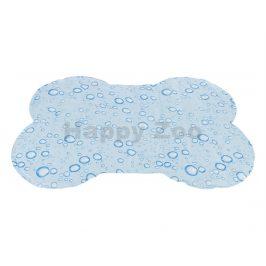 Chladící podložka TRIXIE kost světle modrá (L) 85x60cm