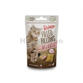 DAFIKO Filled Pillows with Rabbit for Cats 40g