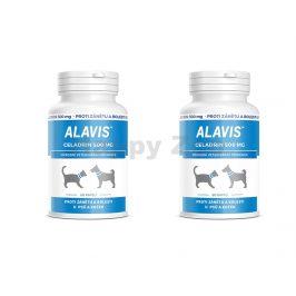 ALAVIS Celadrin pro psy a kočky 500mg (60tbl) (DVOJBALENÍ) (2ks)