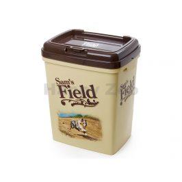 Plastový barel na krmivo SAM´S FIELD 39x48x29cm (na 15kg granulí