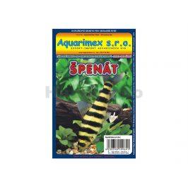 Mražené krmivo - špenát 100g AQUARIMEX