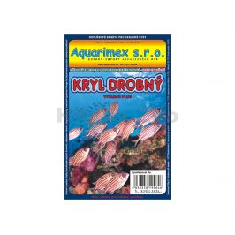 Mražené krmivo - kryl drobný 100g  AQUARIMEX