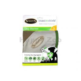 Deka SCRUFFS Insect Shield Blanket hnědá 110x73cm