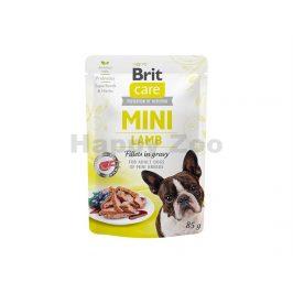 Kapsička BRIT CARE Dog Mini Lamb Fillets in Gravy 85g