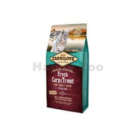 CARNILOVE Cat Fresh Carp & Trout Sterilized 2x6kg