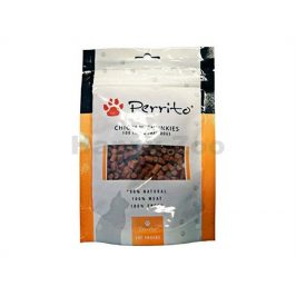 PERRITO Chicken Chunkies for Cats and Small Dogs 100g