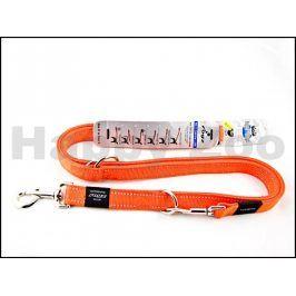 Vodítko přepínací ROGZ Alpinist HLM 25 D-Orange (L) 2x100-130-16
