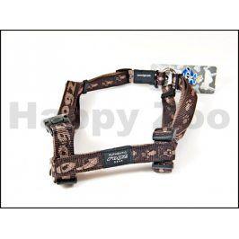 Postroj ROGZ Alpinist SJ 25 J-Chocolate (L) 2x29-64x45-75cm
