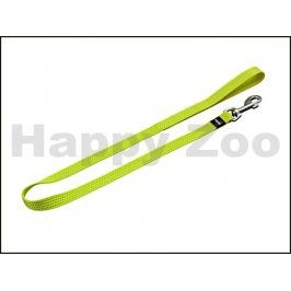 Vodítko KARLIE-FLAMINGO reflexní žluté (M) 100x2cm