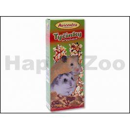 AVICENTRA Tyčinky ořechové - malý hlodavec