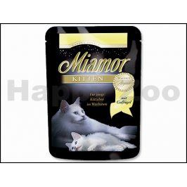 Kapsička MIAMOR Ragout Kitten - drůbeží v želé 100g