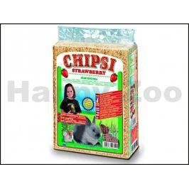 CHIPSI Classic hoblinová podestýlka - jahoda 60l