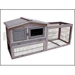 Dřevěná klec pro králíky KARLIE-FLAMINGO Sunshine Cottage 155x53