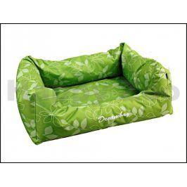 Pelech KARLIE-FLAMINGO Dreambay zelený s lístky 80x67x22cm